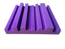 6 PCS Promotion Flame-retardant Acoustic Foam Purple Metro Soundproof Foam