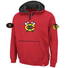 NHL Kaputzenpullover Chicago Blackhawks Hoody Hooded Sweater Sky High Eishockey