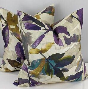 John Lewis Alexa ( Azzuro) Fabric Cushion Cover Purple / Orchid