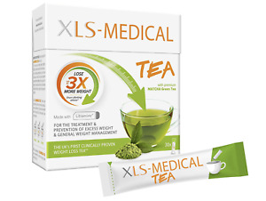 XLS-Medical Tea - 30 Sachets Fat binder with Litramine - Expiry Date: 10.2021