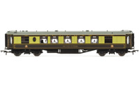 Hornby R4741 8 Wheel Pullman 2nd Class Kitchen Car 58 with Lights