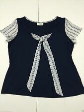 Wallis Viscose Scoop Neck Petite Tops & Shirts for Women