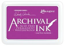 Archival Ink Pad -Wendy Vecchi Designer Series - Cactus Flower