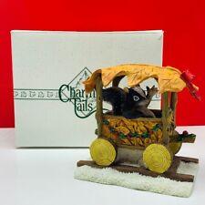 Charming Tails tales figurine sculpture vtg mice skunk Stewarts choo ride 87694