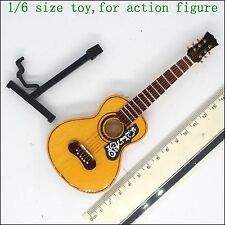 A24-05  1/6 scale wooden guitar model (for action figure, barbie)