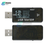 6 in 1 LCD USB Tester Current Voltage Power Capacity Detector Voltmeter DC 4~30V