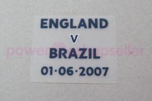 England vs Brazil 2007 Match Detail