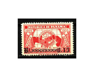 PANAMA, Sc #C154, MH, 1955, ROTARY INTERNATIONAL SURCHARGED, SD-H