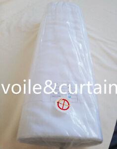 Voile fabric Fire Retardant Whole Roll 3 Colour super quality wedding drapes£1.9