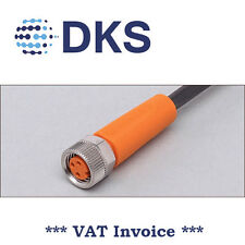IFM  EVC141 M8 Socket Straight 3 Pin 2m PUR Sensor Cable 000288