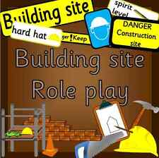 CONSTRUCTION/ BUILDING SITE role play CD -EYFS/ KS1 Early Years, Outdoor Play