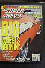 SUPER CHEVY MAGAZINE JUNE 2002 IMPALA LAS VEGAS SCS SEMA PRI A 1LE 62 DEUCE