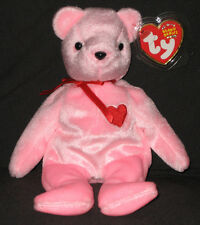 TY SMOOCH-E the BEAR  BEANIE BABY - MINT with MINT TAG