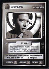 STAR TREK CCG HOLODECK RARE CARD BUSTER KINCAID