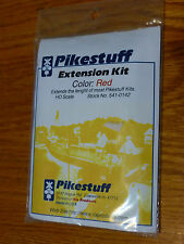 Pikestuff #541-142 HO Metal Building Extension Kit Red