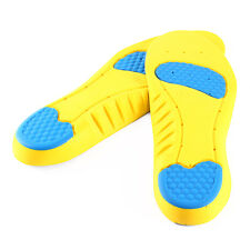 Men's Gel Orthotic Sport Running Insoles Insert Shoe Pad Arch Support Cushion ZR