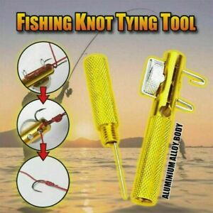 Fishing Knot Quick Tying Tool Line Clippers Snip Hook Nipper Cutter Fish Outdoor