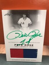 2011 Leaf Pete Rose Auto Patch # 5