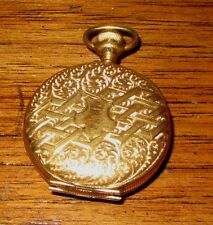 EARLY MID CENTURY GOLD PLATED WATCH PENDANT CASE OR LOCKET