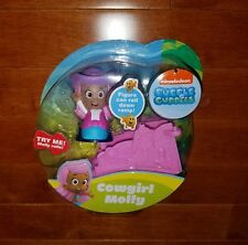 Fisher-Price Bubble Guppies Cowgirl Molly Rolling Figure Toy New