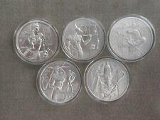 2oz Egyptian Gods series 2oz silver coin