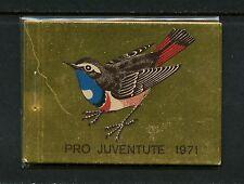 Switzerland 1971 #ZS WI/20  birds booklet  MNH  I733