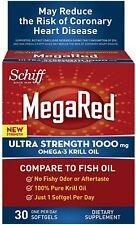 Schiff Omega-3 Krill Oil 30 SoftGels (Pack of 9)