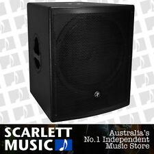 "Mackie S518S 18"" 900w Passive Subwoofer S-518 S-518S w/3 Years Warranty *NEW*"