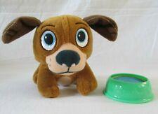 "Disney Doc McStuffins Findo 6"" Plush Puppy Dog Vet Pet w/Water Bowl Dish"