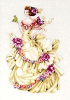 Mirabilia Nora Corbett Cross Stitch Chart ~  ELLA THE FROG PRINCESS #MD129 Sale
