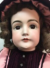 "Antique 28"" Kestner Baby German Bisque Doll Germany 15 1/2 RARE"