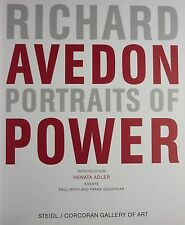 RICHARD AVEDON - PORTRAITS OF POWER - 1ST EDITION STEIDL - PHOTOGRAPHIE