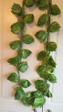 Joblot of 24 Silk Green leaf foliage Garland Decorations - wholesale type J