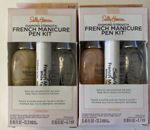 Sally Hansen Diamond Strength French Manicure Pen Kit Pink-A-Boo & Barely There