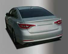 New Chrome Rear Tail Light Cover Garnish Molding Trim for Hyundai Sonata 15-16