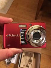 "Polaroid T1035 10MP Digital Camera 12x Zoom 3"" Touchscreen Fast Shipping Look"