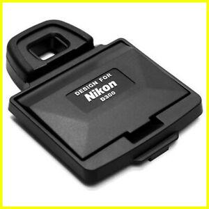 Protezione display con paraluce per fotocamere Nikon D300. LCD protector. Hood.
