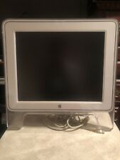 Apple Monitor M7649 17 Inch Studio Display Flat LCD Vintage White Clear