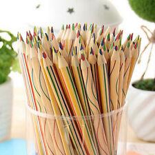 20pcs Rainbow Pencils 4 in 1 Color Pencil Children Painting Writing Pens School