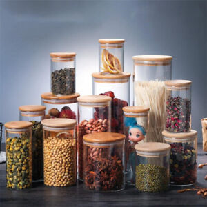Sealed Glass Jars High Borosilicate Kitchen Storage Tank Can With Food Contai_xp