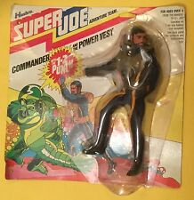 Super Joe Adventure Team Commander Adventurer Hasbro MOC 1977 1-2 PUNCH & VEST