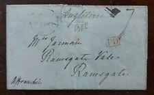 1841 Prepaid Wrapper to Jarman, Ramsgate Vale, Ramsgate from France?