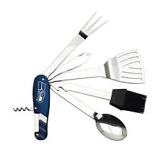 Seattle Seahawks NFL The Sports Vault Barbecue 6 Piece Multi-Tool