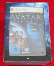 Avatar Das Spiel, XBox 360 Spiel + exklusive Mattel Avatar Movie Masters Figur