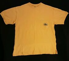 Tommy Bahama Bungalow Brand Relax Pocket T-shirt Small Orange Color