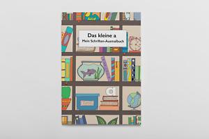 """Malbuch """"Das kleine a"""" ,  Ausmalbuch für Kinder Alphabet entdecken, Malen Lernen"""