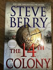 The 14th Colony by Steve Berry Signed Book Hardcover First Edition