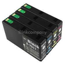 4 Cartucce Comp. inchiostro EPSON WORKFORCE PRO wp4025dw wp4535dwf WP 4545 DTWF wp4595dnf