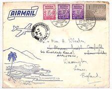 AL38 1951 INDONESIA Bandung to GB Airmail cover {samwells-covers}