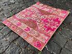 Vintage rug, Organic rug, Entyway rug, Bath, Wool rug, Kids room   1,8 x 2,3 ft